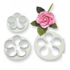 PME Large Five Petal Cutter Set/3
