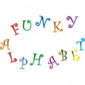 FMM Funky Alphabet & Numbers UC Tappits