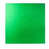 Square Green Drum 12""
