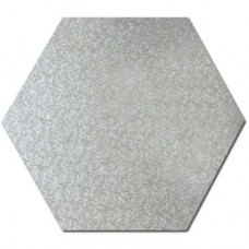 Hexagon Silver Drum 14""