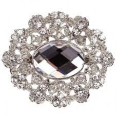 Diamante Marquise Embellishment 50mm