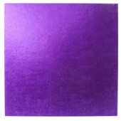 Square Purple Drum 12""