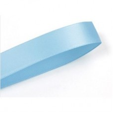 15mm Blue Mist Double Faced Satin Ribbon 100 yards