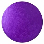 Round Purple Drum 12""