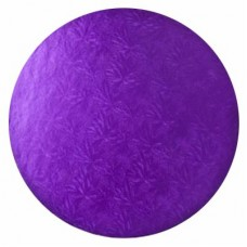 Round Purple Drum 14""